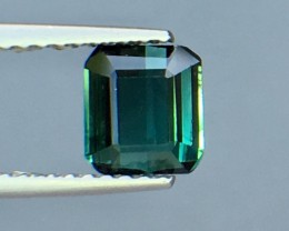 1.06 Cts Untreated Tourmaline Awesome Color ~ Afghanistan Pk20