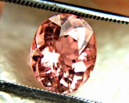 3.43 Carat Rare Pink African Tourmaline