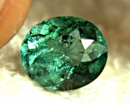 3.28 Carat Teal Green African Tourmaline - Gorgeous
