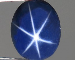2.48 Carat Six Star Diffusion Sapphire - Gorgeous