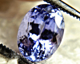 1.94 Carat VVS1 Purple Blue African Tanzanite - Gorgeous