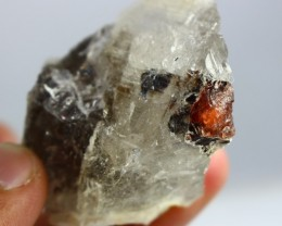 215 ct Unheated ~ Natural Superb Rare Triplite Quartz Combine Specimen