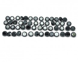 Black Diamond 56.48 cts 37 stones Wholesale Lot