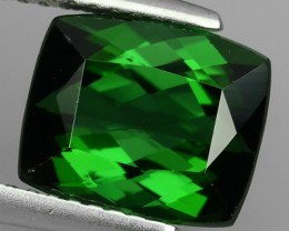 AWESOME 3.45 CTS AMAZING NATURAL RARE LUSTROUS GREEN TOURMALINE NR!!!