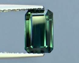 1.52 Cts Untreated Tourmaline Awesome Color ~ Afghanistan Pk20