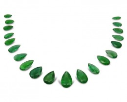 Emerald 46.45 cts 20 stones Wholesale Lot
