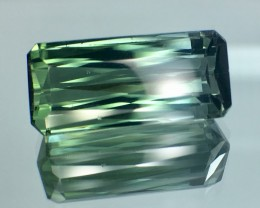 11.09 Cts Untreated Indicolite Tourmaline Awesome Color ~ Afghanistan
