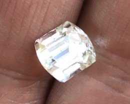 Very rare colorless tourmaline 4.65 cts.