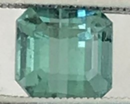 Pretty little Slightly Bluish Green Tourmaline F118