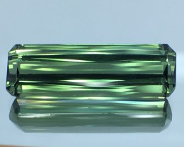 9.07 Cts Untreated Green Tourmaline Awesome Color ~ Afghanistan TR4