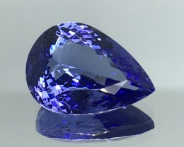 7.90 CT  NATURAL AA+ TANZANITE HIGH QUALITY GEMSTONE T11