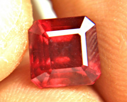 3.33 Ct. Fiery Red Ruby - Superb