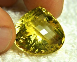 31.55 Carat Vibrant Golden African VS Quartz - Gorgeous