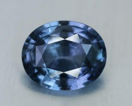 3.28 Carat Cobalt Spinel Ash Blue, Sri Lanka Natural VVS