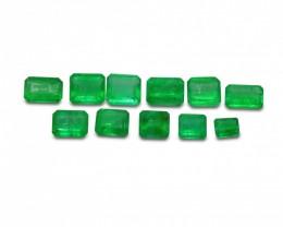 Emerald 4.20 cts 11st Emerald Cut WHOLESALE LOT