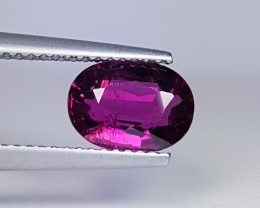 1.51 ct  Collective Gem Oval Cut Natural Rubellite
