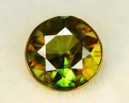 1.11 CT NATURAL SPHENE TOP DAIMOND CUT GEMSTONE SP12