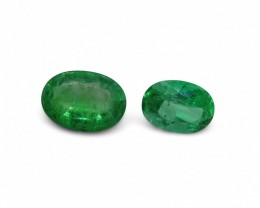 Emerald 1.65 cts 2st Oval WHOLESALE LOT