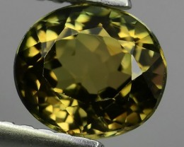 1.30 CTS TOP AMAZING NATURAL RARE LUSTROUS YELLOW TOURMALINE