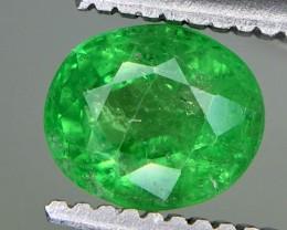 0.90 Crt Tsavorite Faceted Gemstone (R 189)