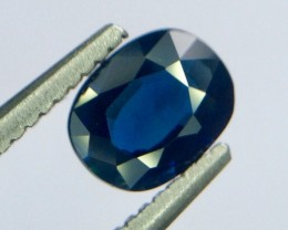 0.66 Crt Natural Sapphire Unheated Faceted Gemstone (MG 01)