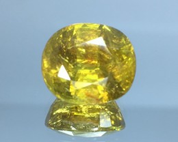 Mind Blowing Fire 5.88 Cts Chrome Sphene ~ Skardu Pk21
