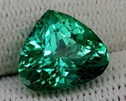 6.40CT GREEN SPODUMENE BEST QUALITY GEMSTONE IGC454