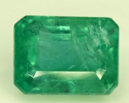 1.85 cts Deep Color Beautifull Zambian Emerald Gemstone