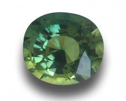 Natural Green Sapphire | Loose Gemstone | New| Sri Lanka