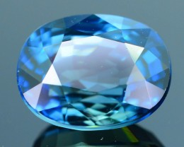 Gil Certified 2.23 ct Blue Sapphire with a Tint of Green  SKU.10