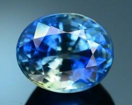 GiL Certified 2.13 ct Bi Color Blue Sapphire SKU.10