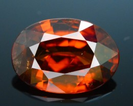GiL Certified 4.59 ct Orange Zircon Cambodia PRJ.2