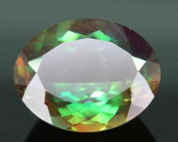 Rarest 2.35 ct Green Sunstone Color Change Oregon SKU.3