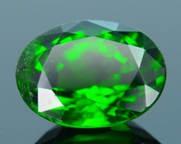 Forest Green Russian 1.55 ct Chrome Diopside SKU.1