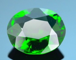 Forest Green Russian 1.77 ct Chrome Diopside SKU.1