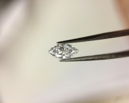 0.20 GIA Certified D SI2 Marquise Loose Natural Diamond LESS 25%!