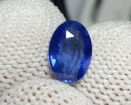 UNHEATED CERTIFIED 1.25 CTS NATURAL BEAUTIFUL BLUE SAPPHIRE CEYLON SRI LANK