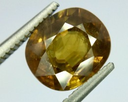 2.45 Crt Natural Sphene Beautifulest Faceted Gemstone (Sp 01)