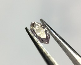 0.09 Light Pink GIA Certified Marquise Loose Natural Diamond