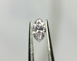 0.08 Very Light Pink Marquise GIA Certified Loose Natural Diamond
