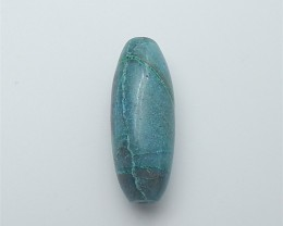 51ct Natural Iong Marquise Chrysocolla Pendanr Beads (18060110)
