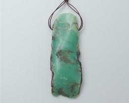 76.5ct Hot Sale Natural Chrysoprase Pendant (18060116)