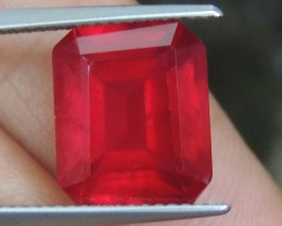 7.61cts,  Ruby, AAA Quality,  Treated,