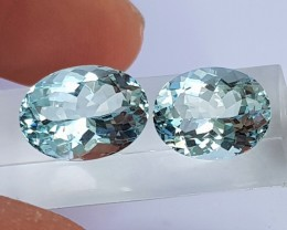 5.26cts Aquamarine,   Untreated, Calibrated