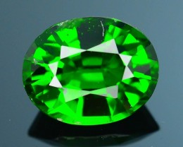 Forest Green Russian 1.28 ct Chrome Diopside SKU.1