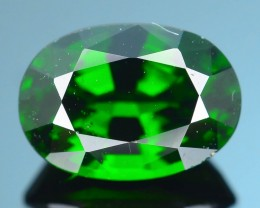 Forest Green Russian 1.88 ct Chrome Diopside SKU.1