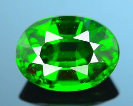 Forest Green Russian 1.10 ct Chrome Diopside SKU.1