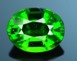Forest Green Russian 1.19 ct Chrome Diopside SKU.1