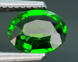 Forest Green Russian 1.13 ct Chrome Diopside SKU.1