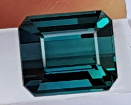 2.78cts Indicolite Blue Tourmaline,  Untreated,  Clean